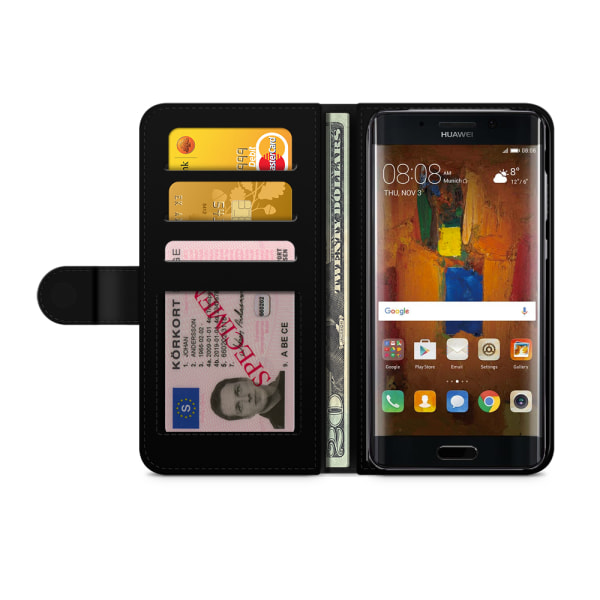 Bjornberry Plånboksfodral Huawei Mate 9 - Girl Power