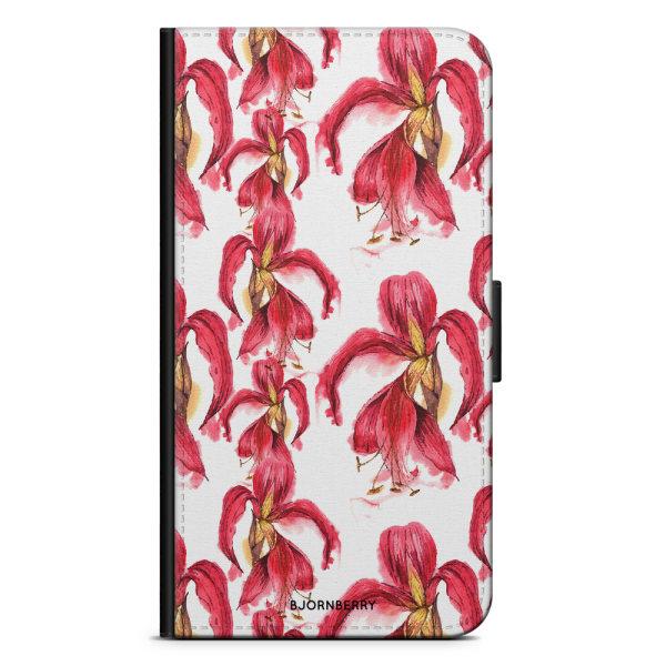 Bjornberry Plånboksfodral Huawei Nexus 6P - Exotic Flowers