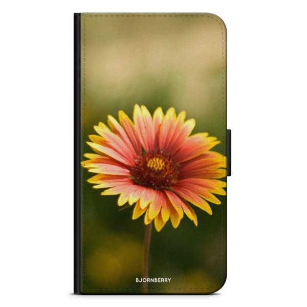 Bjornberry Plånboksfodral Huawei Nexus 6P - Gul Blomma