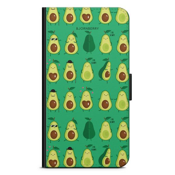 Bjornberry Plånboksfodral Huawei P20 - Avocado Mönster