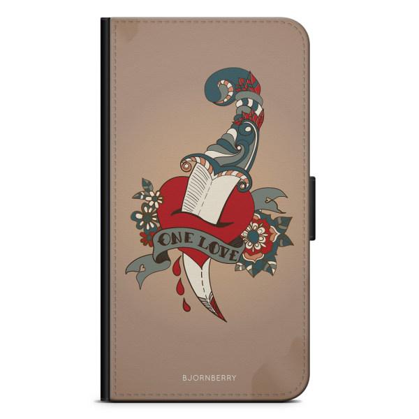 Bjornberry Plånboksfodral Huawei P20 - One Love