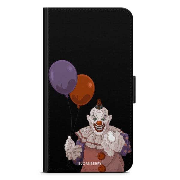 Bjornberry Plånboksfodral Huawei P20 - Scary Clown