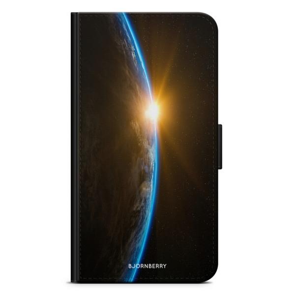 Bjornberry Plånboksfodral Huawei P20 - Soluppgång