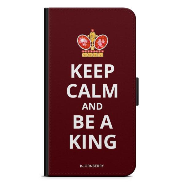 Bjornberry Plånboksfodral Huawei P30 - Be a King