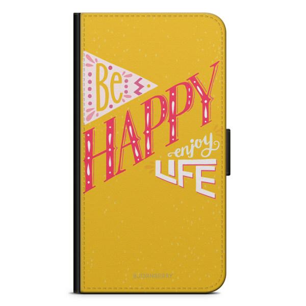 Bjornberry Plånboksfodral Huawei P30 Lite - Be Happy