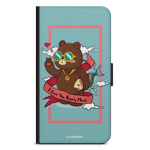 Bjornberry Plånboksfodral Huawei P30 Lite - Bear Love