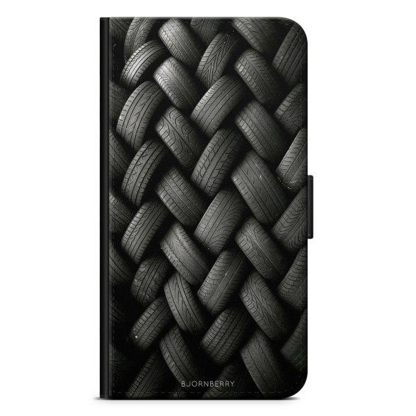 Bjornberry Plånboksfodral Huawei P30 Lite - Däck vägg