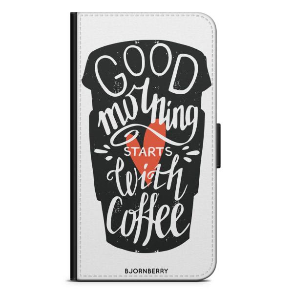 Bjornberry Plånboksfodral Huawei P30 Pro - Kaffe