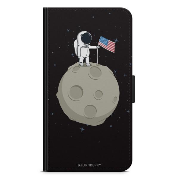 Bjornberry Plånboksfodral Huawei P30 - Walk On The Moon