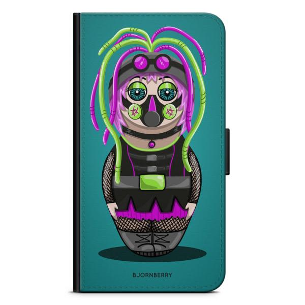 Bjornberry Plånboksfodral Huawei P8 Lite - Cyber-Goth
