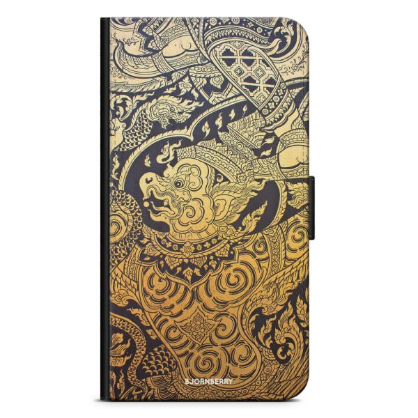 Bjornberry Plånboksfodral Huawei P8 Lite - Gold Thai