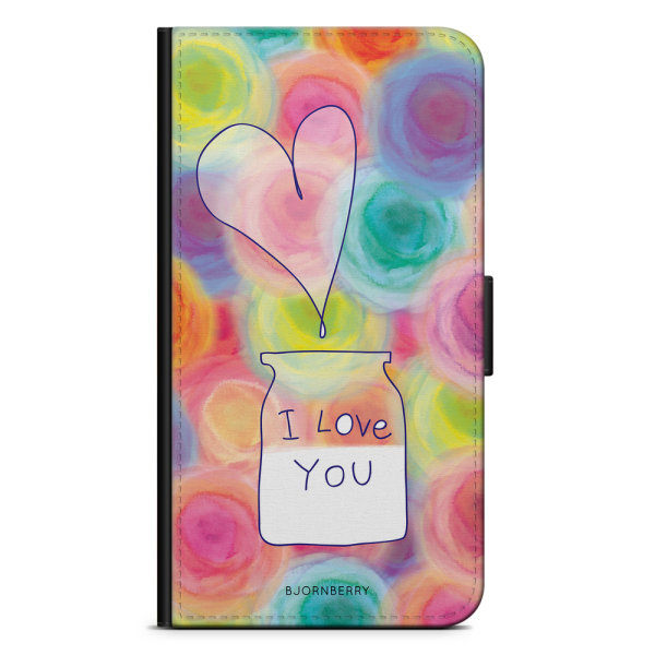 Bjornberry Plånboksfodral Huawei P8 Lite - I love you