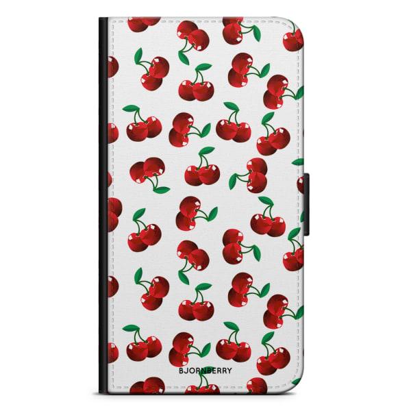 Bjornberry Plånboksfodral Huawei P8 Lite - Körsbär