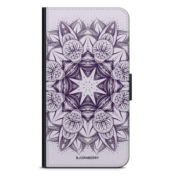 Bjornberry Plånboksfodral Huawei P8 Lite - Lila Mandala