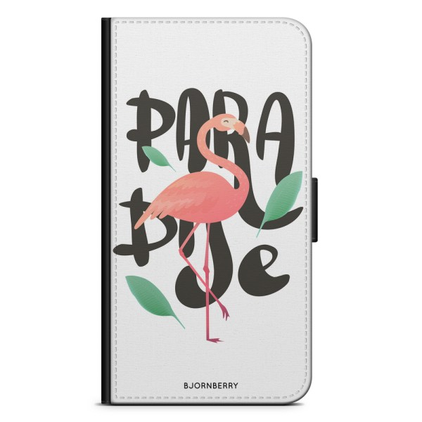 Bjornberry Plånboksfodral Huawei P8 Lite - Paradise Flamingo