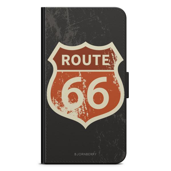 Bjornberry Plånboksfodral Huawei P8 Lite - Route 66