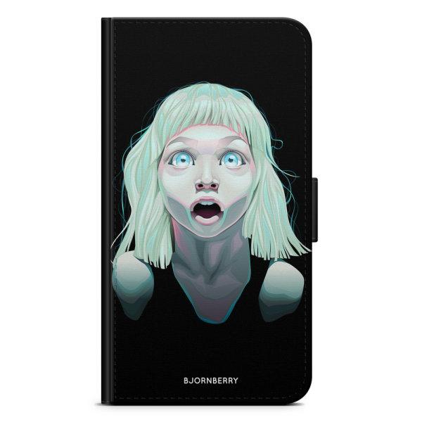 Bjornberry Plånboksfodral Huawei P8 Lite - Tjej Ögon