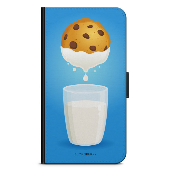 Bjornberry Plånboksfodral Huawei P9 Lite - Mjölk & Kakor