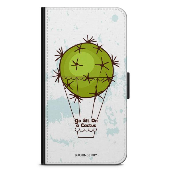 Bjornberry Plånboksfodral Huawei Y6 (2017)- Go sit on a cactus