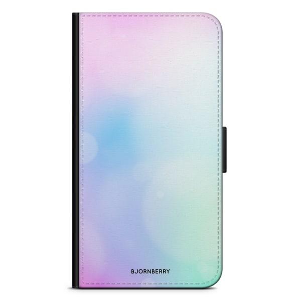 Bjornberry Plånboksfodral Huawei Y6 (2017)- Regnbåge