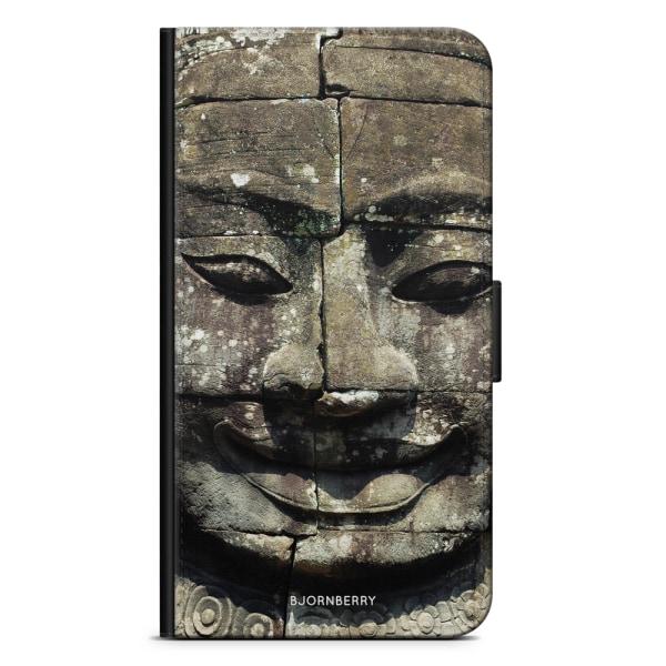 Bjornberry Plånboksfodral Huawei Y6 (2018)- Buddhastaty