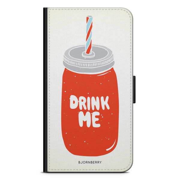 Bjornberry Plånboksfodral Huawei Y6 (2018)- Drink Me