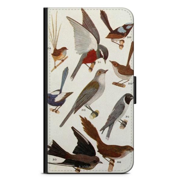 Bjornberry Plånboksfodral Huawei Y6 (2018)- Fåglar