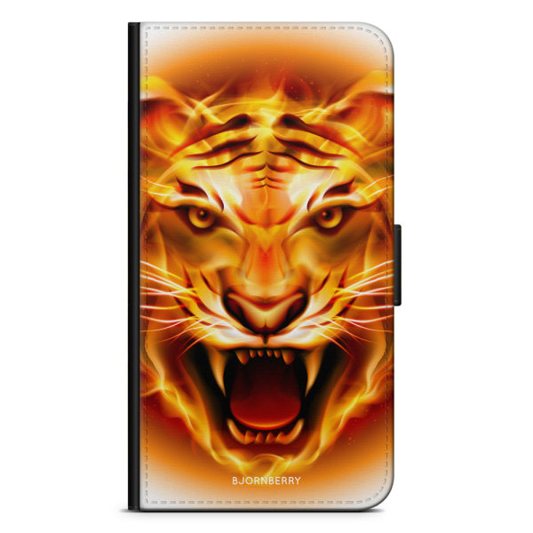 Bjornberry Plånboksfodral Huawei Y6 (2018)- Flames Tiger
