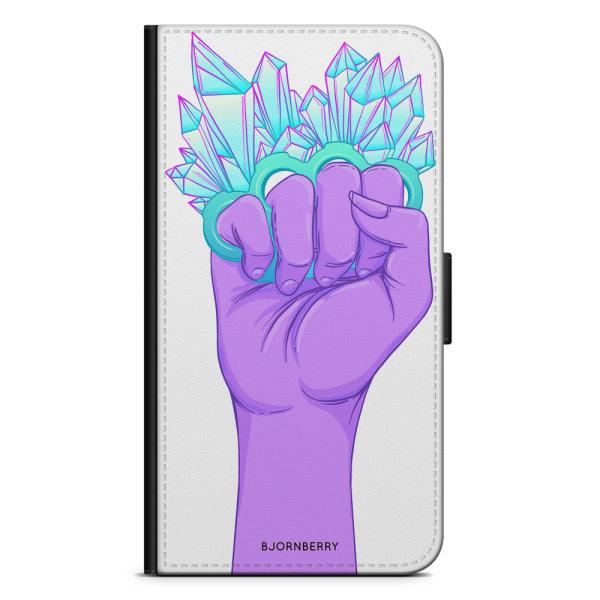 Bjornberry Plånboksfodral Huawei Y6 (2019)- Kristaller & Hand