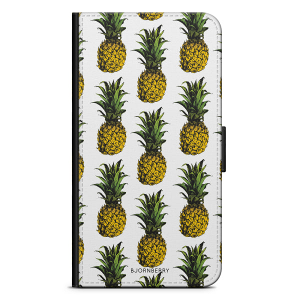Bjornberry Plånboksfodral iPhone 11 - Ananas