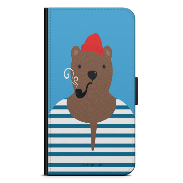 Bjornberry Plånboksfodral iPhone 11 - Hipster Björn