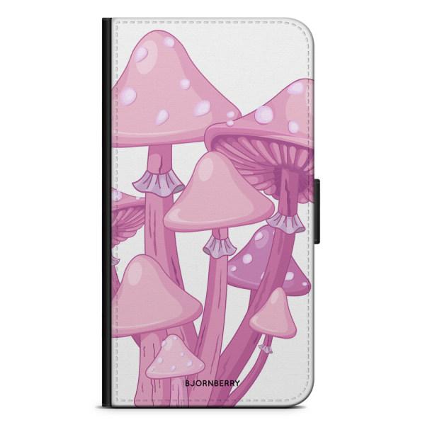 Bjornberry Plånboksfodral iPhone 11 - Magic Mushroom