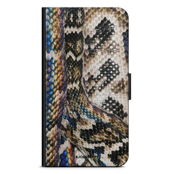 Bjornberry Plånboksfodral iPhone 11 - Ormskinn