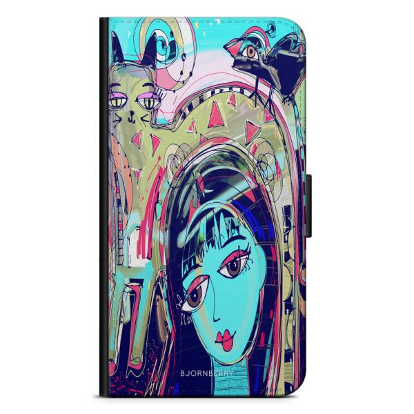 Bjornberry Plånboksfodral iPhone 4/4s - Abstrakt Katt