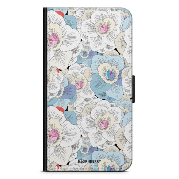 Bjornberry Plånboksfodral iPhone 4/4s - Blommor