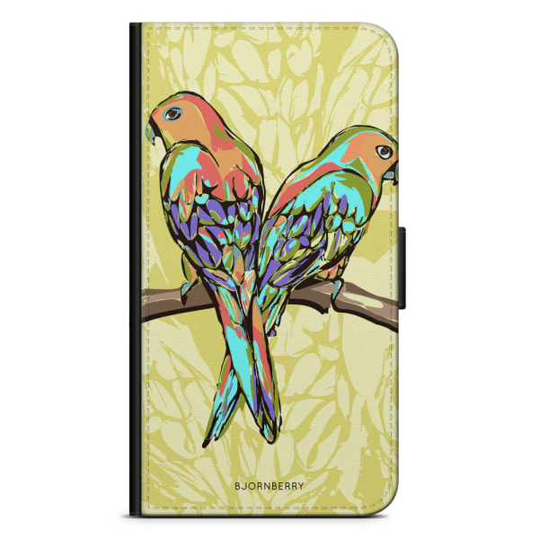 Bjornberry Plånboksfodral iPhone 4/4s - Papegojor
