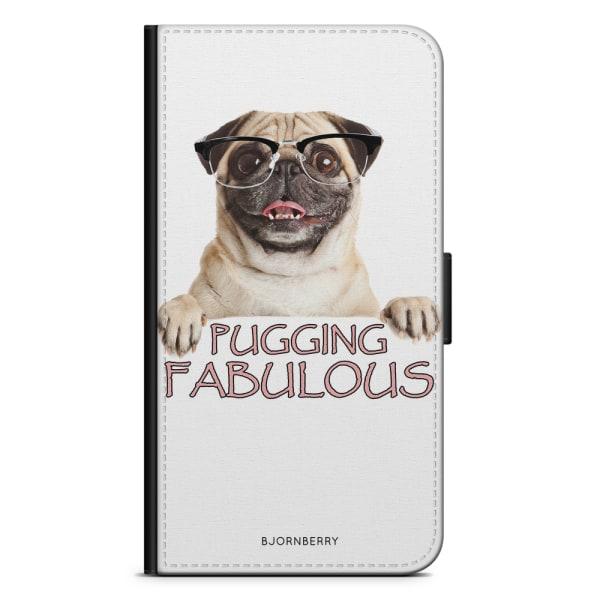 Bjornberry Plånboksfodral iPhone 4/4s - Pugging Fabulous