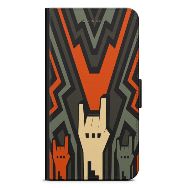 Bjornberry Plånboksfodral iPhone 4/4s - Rock Händer