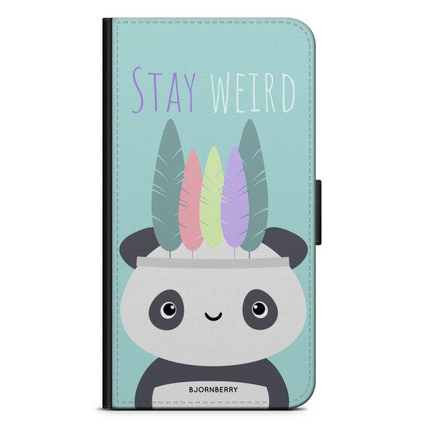 Bjornberry Plånboksfodral iPhone 5/5s/SE - Stay Weird