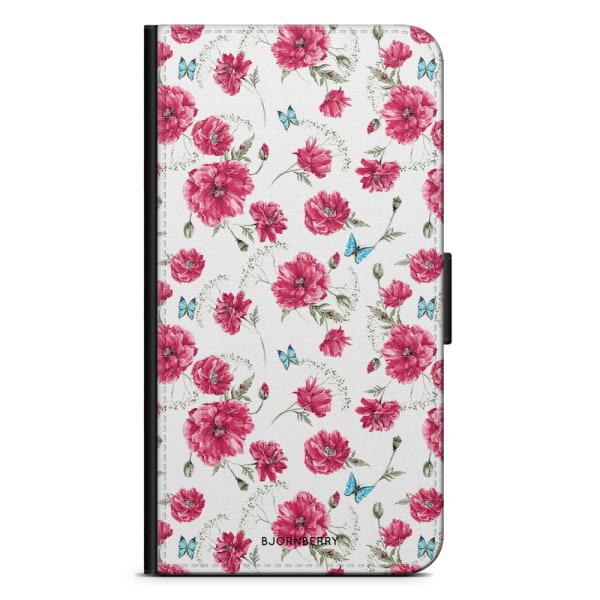 Bjornberry Plånboksfodral iPhone 5C - Fjärilar