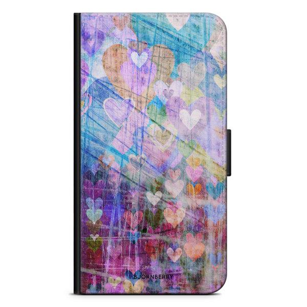 Bjornberry Plånboksfodral iPhone 6/6s - Hjärtan