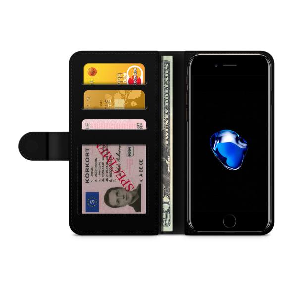 Bjornberry Plånboksfodral iPhone 6/6s - Lila Ros