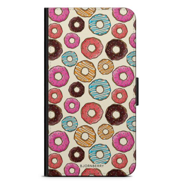 Bjornberry Plånboksfodral iPhone 7 Plus - Donuts
