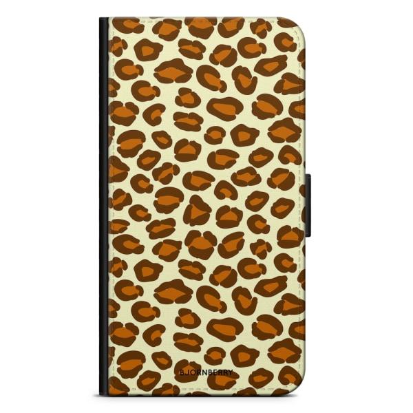 Bjornberry Plånboksfodral iPhone 7 Plus - Leopard