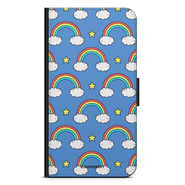 Bjornberry Plånboksfodral iPhone 7 Plus - Regnbågar