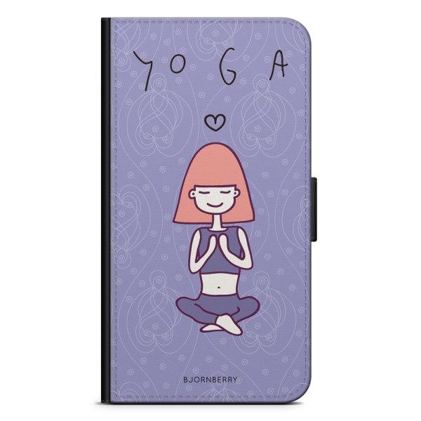 Bjornberry Plånboksfodral iPhone 7 Plus - Yoga Girl