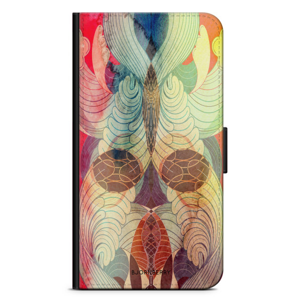 Bjornberry Plånboksfodral iPhone 7 - Retro Mönster