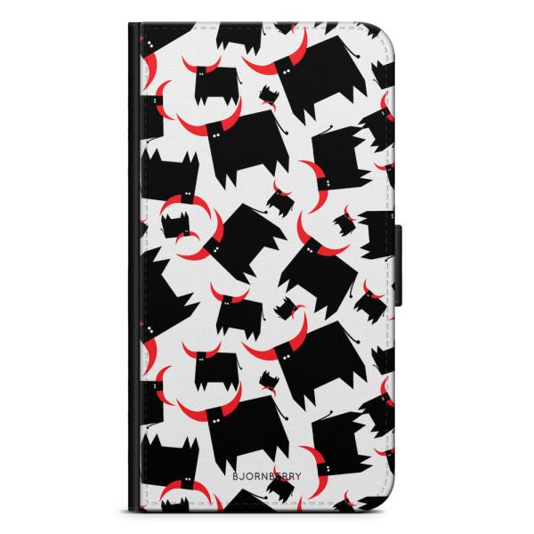Bjornberry Plånboksfodral iPhone 7 - Tjur Röda Horn