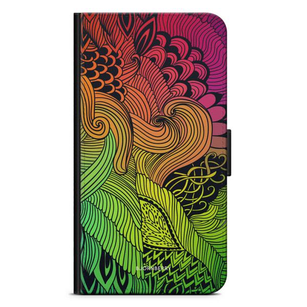 Bjornberry Plånboksfodral iPhone 8 Plus - Abstract