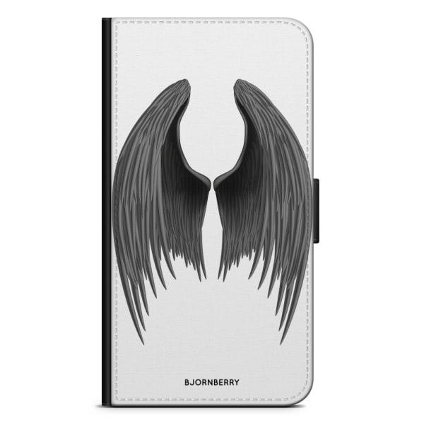 Bjornberry Plånboksfodral iPhone 8 Plus - Ängelvingar